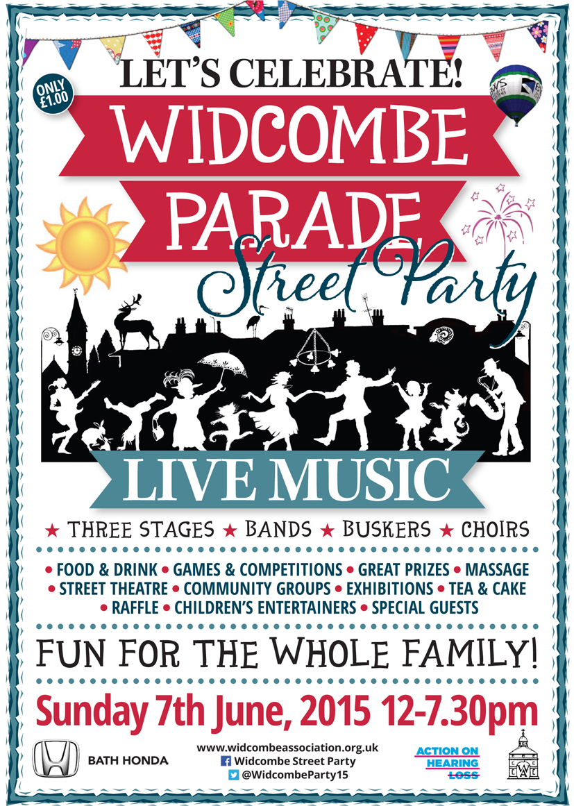 Widcombe Parade Street Party 2015