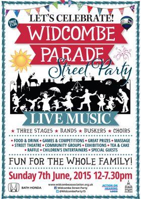 Widcombe Parade Street Party 2015
