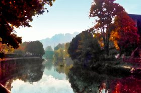 Autumn River Avon