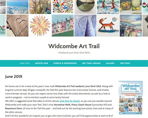 The annual Art Trail involves the whole community, and can be seen in numerous venues throughout the Widcombe area. Artists, designers and photographers display their own